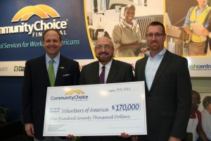 CCFI Gives $170,000 to Volunteers of America